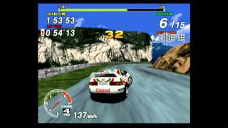 Classic Game Room - SEGA RALLY CHAMPIONSHIP 1995 for PS2 review
