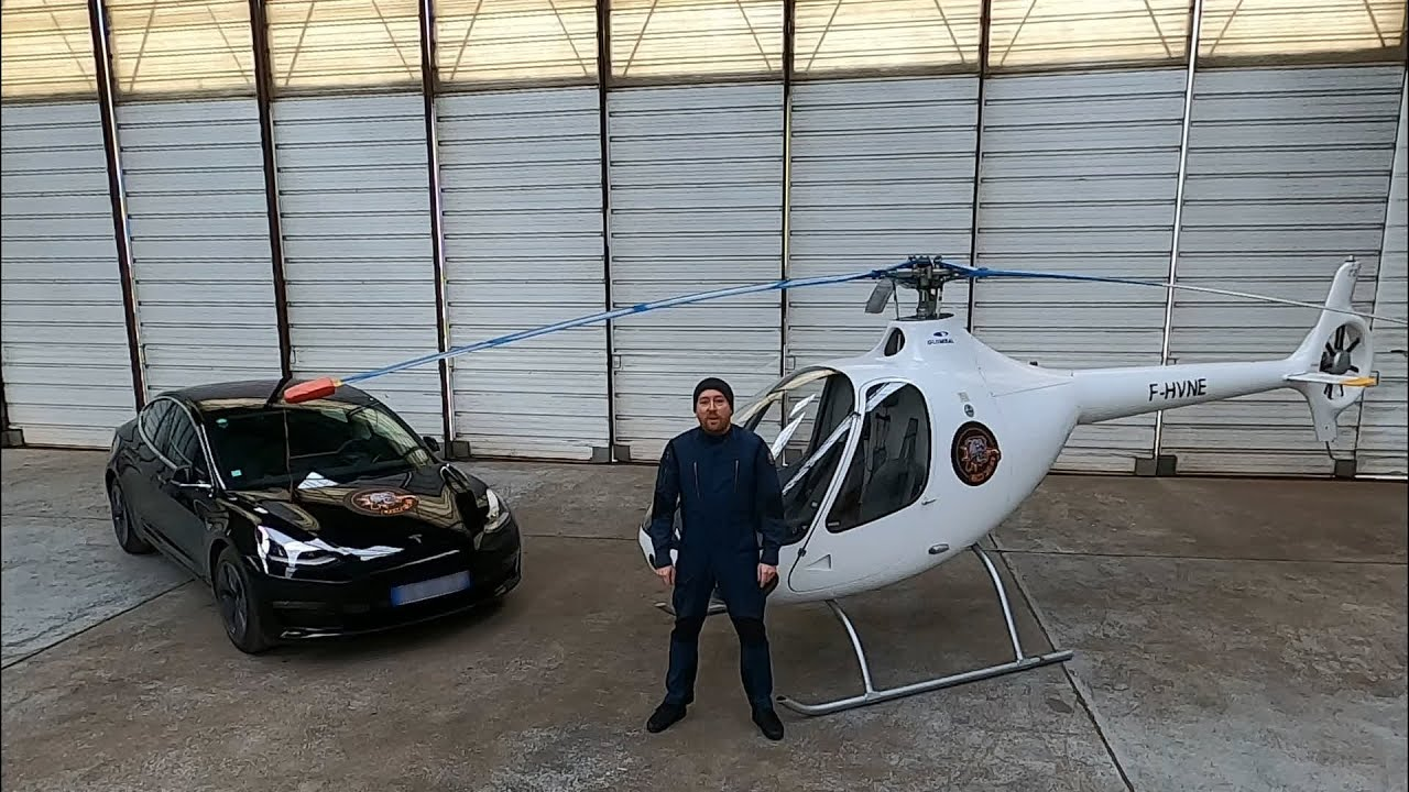 Exclu mondiale - nouvelle option Guimbal Cabri G2 - LOW FUEL HELICOPTER LIFE