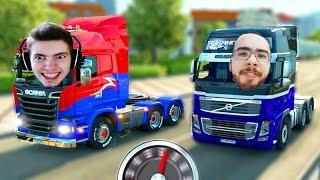 A VIAGEM da VELOCIDADE!!! - Euro Truck Simulator 2 MP!!!