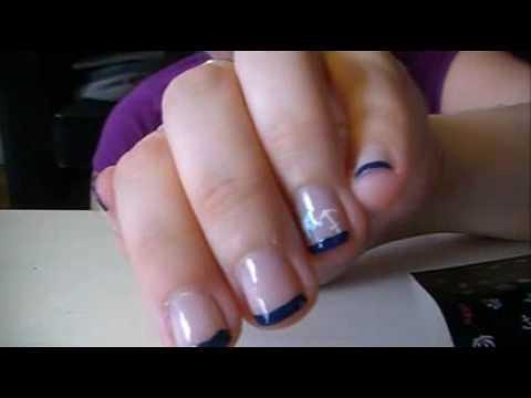 [REQUEST] Matrosen Nageldesign (French-Naildesign Blau ...