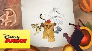 Coloreando | La Guardia del León