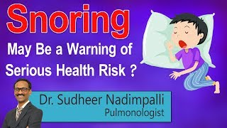 Hi9 | Snoring May Be a Warning of Serious Health Risk? | Dr. S…