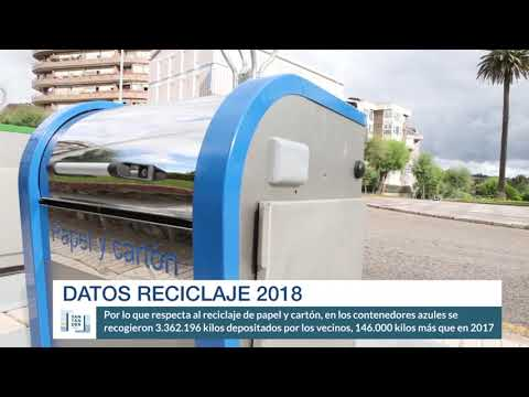 Datos reciclaje 2018