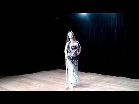 Dança do Ventre - Lu Hana Nur - Solo Saidi (Folclore Árabe)