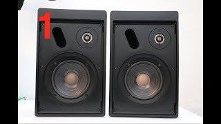 JBL Control 5 - Treble & Bass Audio Test, Sound Demo #1