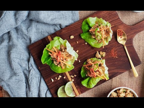 CHICKEN LETTUCE WRAP Recipe