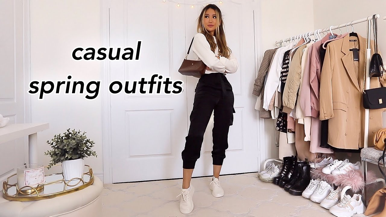 CASUAL SPRING OUTFIT IDEAS  Fashion Lookbook