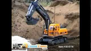 Excavator Remote Control Construction Truck RC Track Hoe Toy Model