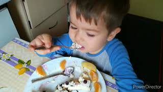 Что едят мои дети.  Что умеют готовить Мои дети