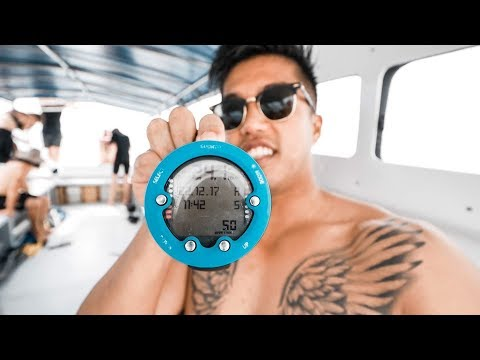 SCUBA DIVING IN MATAKING ISLAND - BORNEO!!!  (177 | Southeast Asia Travel VLOG)
