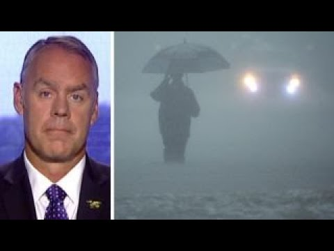 Secretary Ryan Zinke talks Harvey response, monuments plan