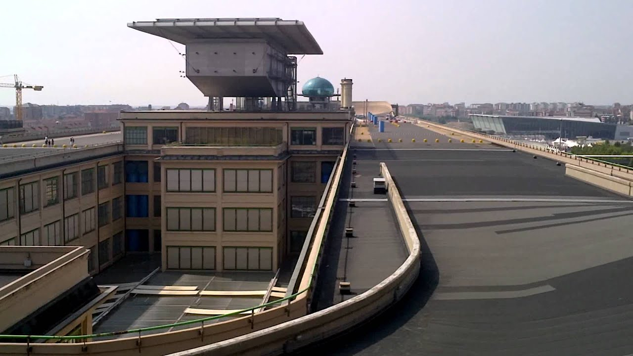 Roof Top Test Track At The Old Fiat Factory 2 Youtube