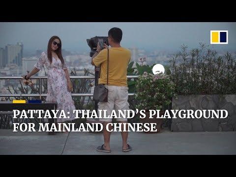 Chinese tourism in Thailand's resort city of Pattaya