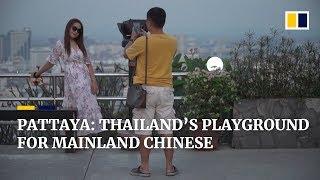 Chinese tourism in Thailand's resort city of Pattaya thumbnail