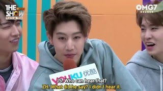 eng sub 160329 the show warm up time interview got7