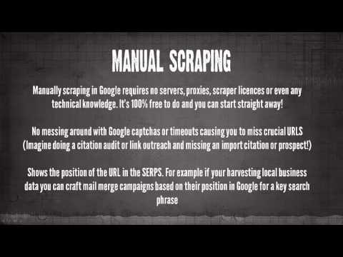 Scraping Google Manually Without Complicated Tools, Proxies and Servers