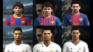 PES 2011/2012/2013 -EVOLUÇÂO DE FACES - PC