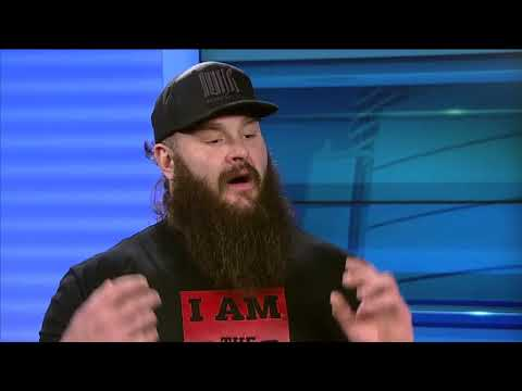 WWE Superstar Braun Strowman talks with Lance Allan
