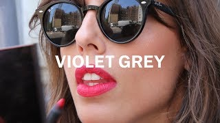 French Lessons: Violette's Matte Red Lip