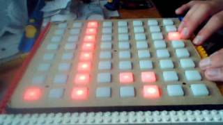 daemon playing on monome 3 - forest of regret