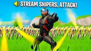Best Fortnite STREAM SNIPING Moments of 2019!