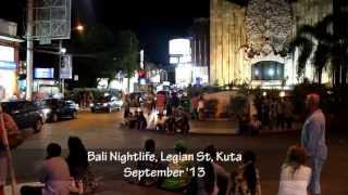Bali Nightlife, Clubs, The Bounty, Skygarden, Engine Room September 2013