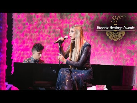 "First LIVE Performance of ""Celoso"" by Lele Pons and Rudy Mancuso - 31st Hispanic Heritage Awards"