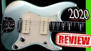 What a CRAZY Axe!   2020 Fender Parallel Universe Vol II Jazz Strat Mystic Surf Green Review + Demo
