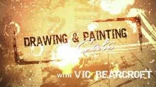 DVD - Drawing & Painting Cats with Vic Bearcroft