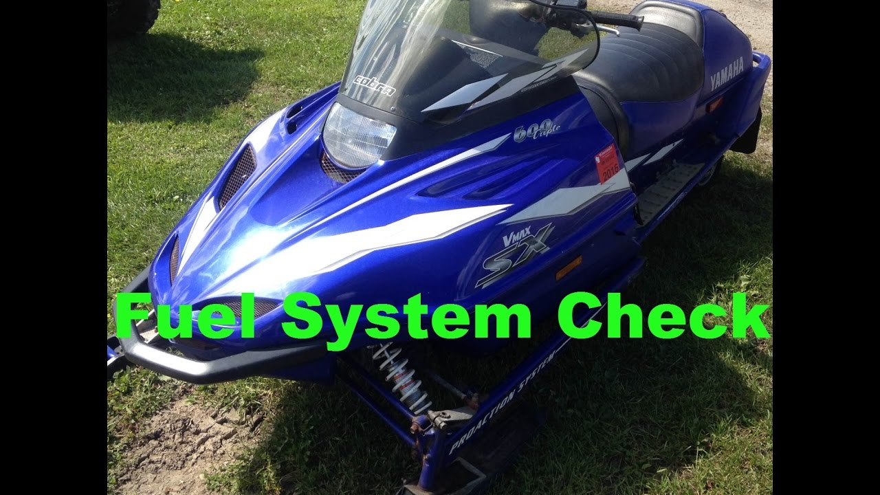 Resurrecting A 1999 Yamaha V Max 600 SX Snowmobile Part 1