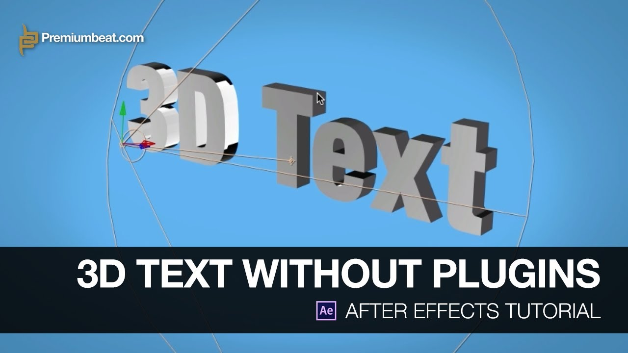 how to add text to after effects