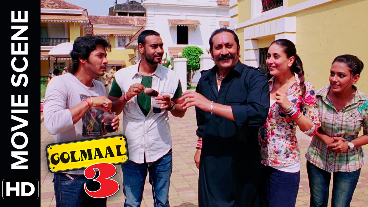 Vasooli Fireworks | Golmaal 3 | Comedy Movie Scene