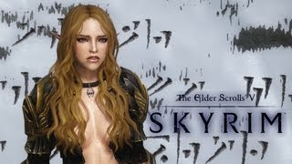 Repeat youtube video How to create a blonde virgin Elf girl in Skyrim (1440p)