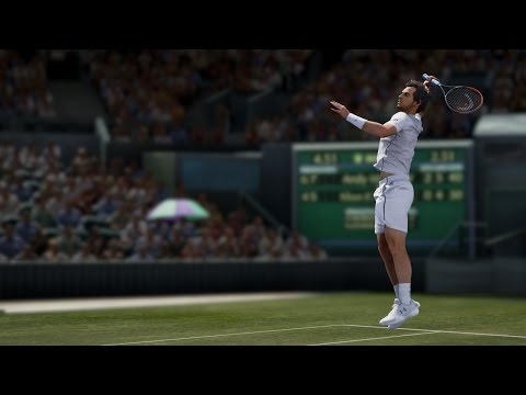 Feel Wimbledon with Andy Murray