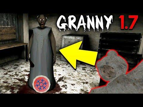 БАГ НА БЕССМЕРТИЕ В ГРЭННИ С ЗАМОРОЗКОЙ! - Playing in Granny Update Funny Moments Glitch
