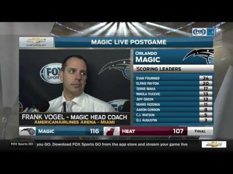 Frank Vogel—Orlando Magic at Miami Heat 2/13/17