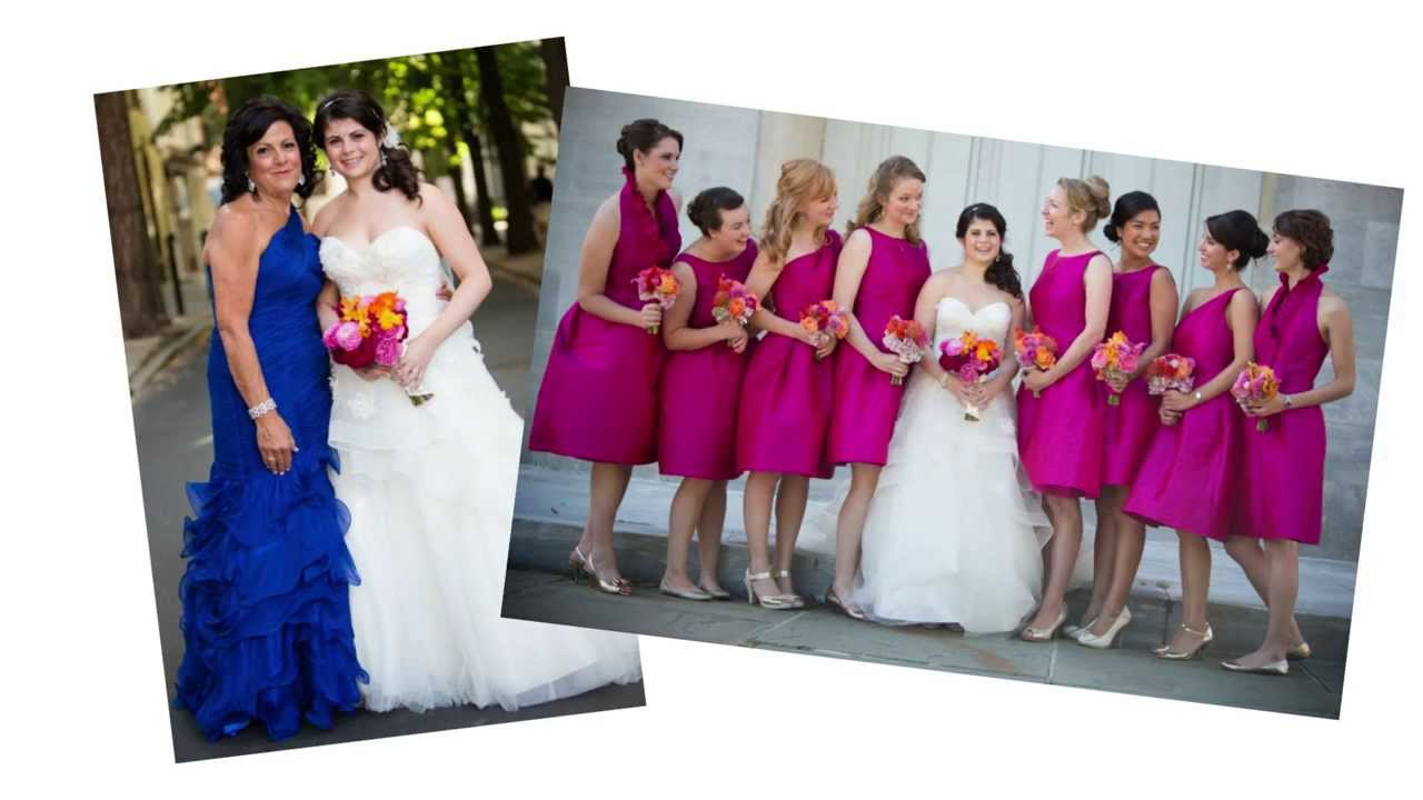 What Color Mother Of The Bride Dress Should You Wear?   YouTube