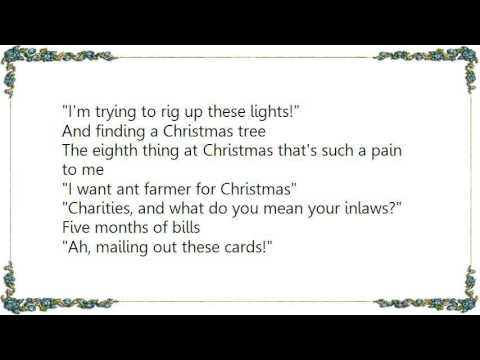 bob rivers the twelve pains of christmas lyrics