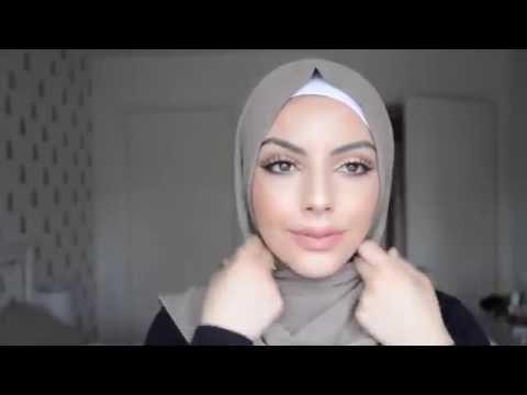 Hijab Tutorial Arabian Style