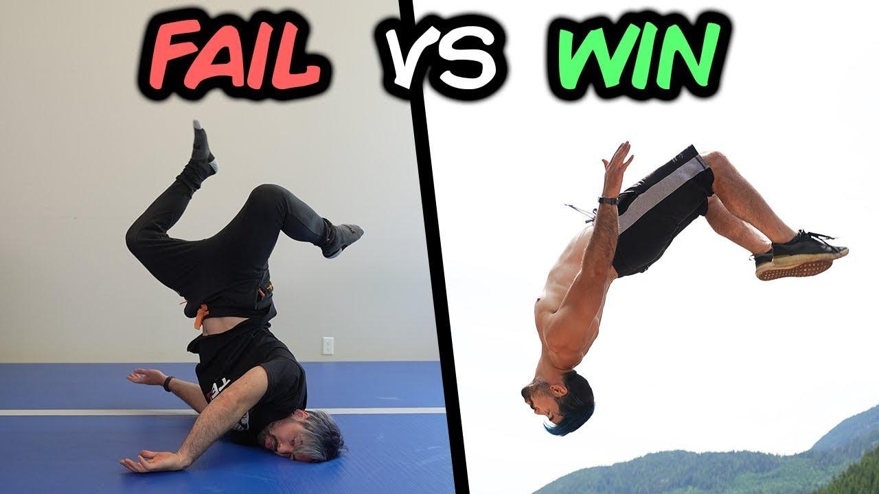 Best Wins vs Fails Compilation (Parkour, Trampoline, Funny)