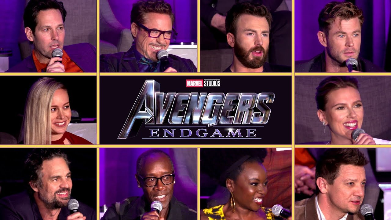 Image result for avengers endgame full cast