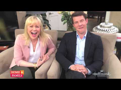 Gettin' silly with @SSD_TV 's @Eric_Mabius and @kristintbooth!