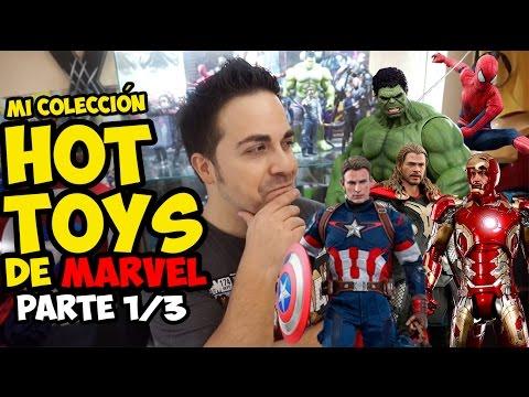 Mi colección de HOT TOYS (Parte 1/3) | Strip Marvel