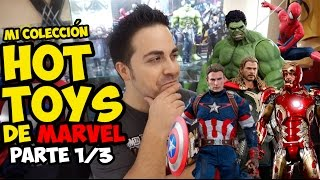 Mi colección de HOT TOYS (Parte 1/4) | Strip Marvel