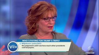 Who's Paying Price For Pres. Trump's Trips? | The View