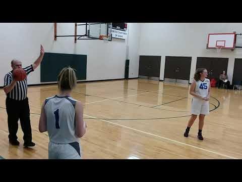 North Idaho Christian School Girls Basketball: NICS Varsity VS Kootenai (Pt.2)