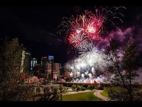 Canada Day Fireworks In Calgary 2019