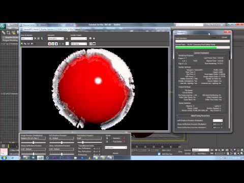 how to make a globe in 3D max - The Creation