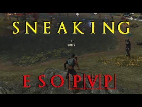 The Elder Scrolls Online – Sneaking in PvP [Nightblade Gameplay]