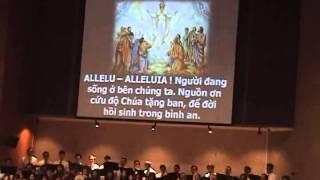 Ánh Sáng Phục Sinh - Liên Ca Đoàn Thánh Linh - Fountain Valley - Phục Sinh 2014
